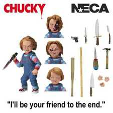 "CHILD'S PLAY CHUCKY 4"" ULTIMATE ACTION FIGURE FROM NECA"