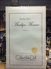 Marilyn Monroe Doll Limited Edition Collectible Leading Ladies 1 Franklin