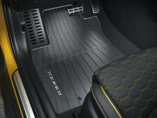 KIA XCEED Diesel e Benzina Set 4 tappetini impermeabili ORIGINALI - logo grigio