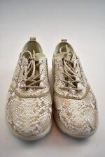 Geox Damen Sneaker Leder Beige in der Gr. 37