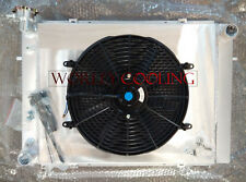 Alloy RADIATOR&Shroud&Fan HOLDEN V8 5.0 COMMODORE Caprice VL VN VG VP VQ VR VS