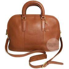Vintage Coach Bag Bancroft Brief XL Satchel Tote Travel Bag #5290 British Tan