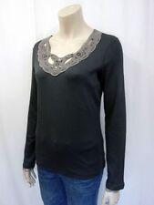 Normalgröße Marc Cain Damenblusen, - tops & -shirts aus Baumwollmischung