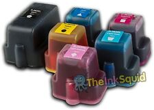 6 Compatible HP C5100 PHOTOSMART Printer Ink Cartridges