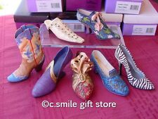 Just the Right Shoe ~ Raine *LOT of 7 Shoes w/FREE inStep Magazine!* MIB