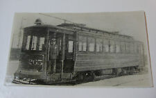 USA400 - ALTON GRANITE & ST LOUIS TRACTION Co TROLLEY No265 PHOTO Illinois USA