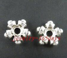 40pcs Tibetan Silver Nice Star Spacer Beads 13.5x4.5mm 9596