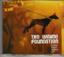 (CL813) The Wayne Foundation, Friday Night Nation EP - 2007 CD