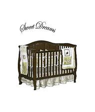 Sweet Dreams Vinyl Wall Decal Stickers Decor Letters Child Nursey saying Quote