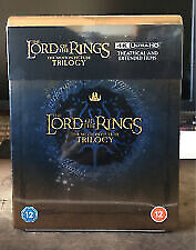 The Lord of the Rings Trilogy 4K UHD Steelbook Set RB NEW & SEALED