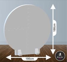 Backdrop Rotondo in polistirolo per feste ed eventi misura 186x186x5 cm