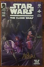 Star Wars: The Clone Wars (2008) #1 - Signed Variant Comic Book - 1st Ahsoka !