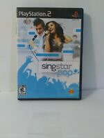 Singstar Pop Playstation 2 PS2 Game  Complete FREE FAST Shipping Need Mic 4 play