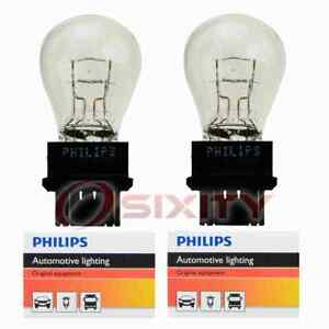 2 pc Philips Cornering Light Bulbs for Cadillac DTS Seville 1998-2011 ac