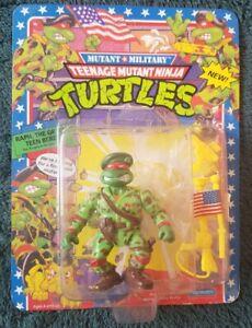 TMNT Raph, The Green Beret, Mutant Military. -cut bubble- unpunched Ninja Turtle
