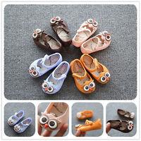 Summer Girls Child Toddler Kid Slip On Flat Sandals Jelly Cartoon Cat baby Shoes