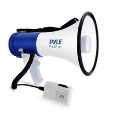 More details for pyle pro megaphone 50w loud hailer mega phone speaker bull horn led lights