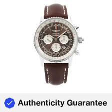 Breitling Navitimer 1 Rattrapante 45 Cuadrante Marrón Reloj para hombre AB031021/Q615-443X