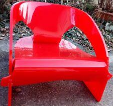 KARTELL noviglio JOE COLOMBO design 4801 chair sedia sessel SPECIAL red chaise