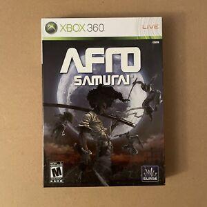 Afro Samurai (Microsoft Xbox 360, 2009) Complete