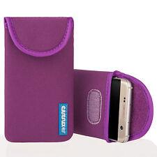 Caseflex Samsung Galaxy A3 (2016) case néoprène pochette peau housse violet