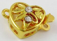 Gold Jewellery Making Box Clasps