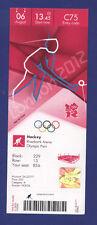 Orig.Ticket  Olympic Games LONDON 2012  -  HOCKEY   JAPAN - CHINA  !!  RARE