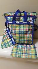 LESPORTSAC SHOULDER PURSE WITH 2 POUCHES