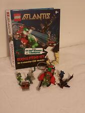 Lego Atlantis Buch und Steine, Gebraucht, Karton für Steine eingeschnitten