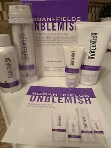 Newest Formula Rodan and Fields Unblemish Regimen For Adult Acne & Anti-Aging