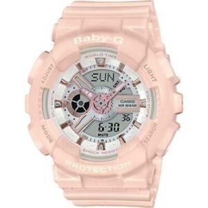 Casio Baby-G Pastel Pink Analogue/Digital Watch BA110RG-4A BA-110RG-4ADR
