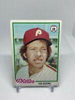 Ted Sizemore #136 Topps 1978 Baseball Card (Philadelphia Phillies)