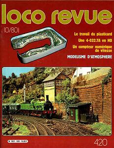 Loco Magazine N°420 Of 1980, The Work Of Plasticard, One 4.032.TA IN Ho
