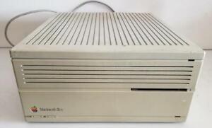 Macintosh IIcx Vintage Computer M5650 1988 Apple Mac Desktop Antique Rainbow