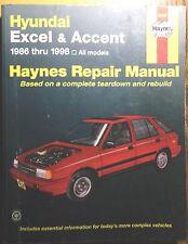 1986-1998 Hyundai Excel & Accent Haynes Auto Repair Service Shop Manual 43015