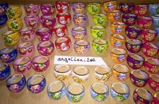 10 X SHOPKINS Rings Birthday Party Bag Fillers,Doll Series/season 6 5 4 3 Club 7