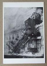 Carte postale Gare Montparnasse accident train 22 octobre 1895  CPSM