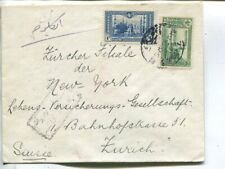 Turkey cover to Switzerland 1915