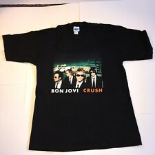 Vintage Bon Jovi Crush Tour 2000 XLarge XL Tshirt Made USA