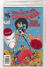 THE SPECTACULAR SPIDER-MAN 213 POLYBAG, 4 COLOR ANIMATION PRINT  (FREE SHIPPING)