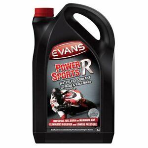 Evans Power Sports R (5 Liter) Kühlflüssigkeit / Kühlmittel ohne Wasser