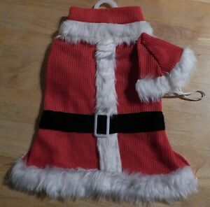 Happy Paws Santa Claus Dog's Costume Size L