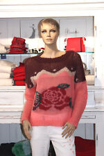 TWIN-SET Neu Pullover Gr.XL Royal Pink Rosé Rose Italy Milano Barbieri Oversized