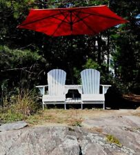 Adirondack Chair Plan + Settee Kit & Footstool plans - FULL SIZE PAPER PATTERNS