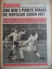 FUWO 5 - 29.1. 1974 ** Ganzera Frankfurt/O. -Dresden 2:3 C.Leipzig-S.Zwickau 3:2