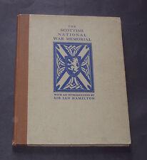 THE SCOTTISH NATIONAL WAR MEMORIAL at EDINBURGH CASTLE: Military Regiments 1932