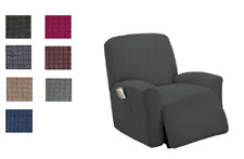 Stretchable Slipcover for Recliner Chair,Furniture Protector,with Storage Pocket