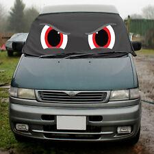 Mazda Bongo Window Screen Cover Wrap Black Blind Camper Van Frost Red Angry Eye