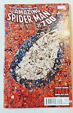 Amazing Spider-Man 700 Marvel Comics 2013 NM- First Print Death Of Peter Parker