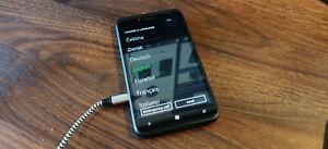 Barely used HTC Titan - 16GB - Black Windows Phone smartphone (unlocked)